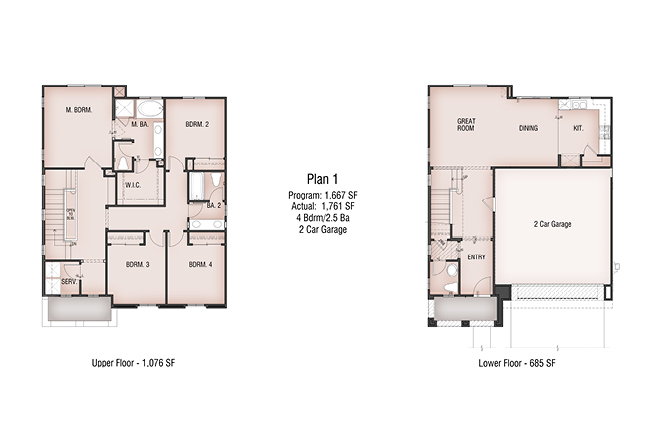 Parkview by pardee homes wha blog for Parkview homes floor plans