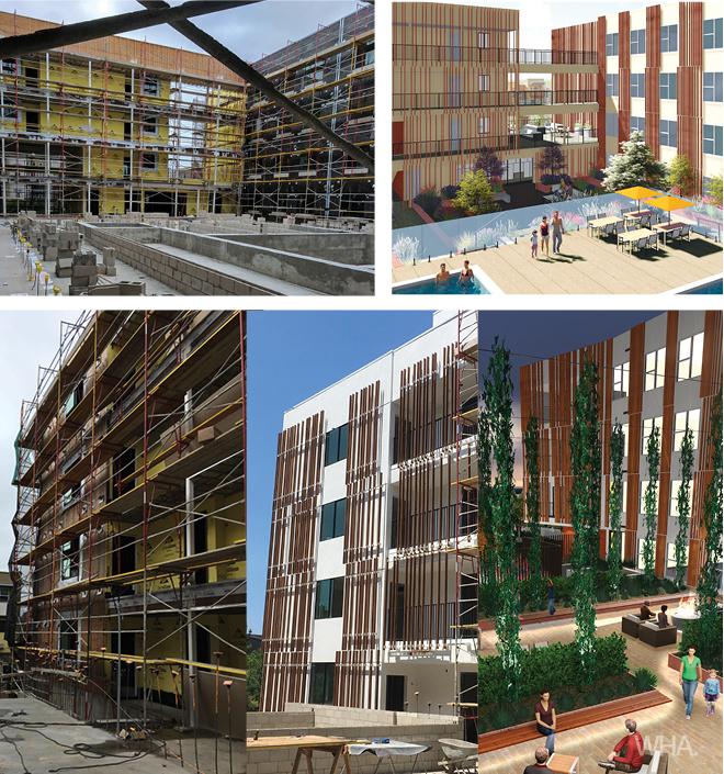 The 301 Construction Progress