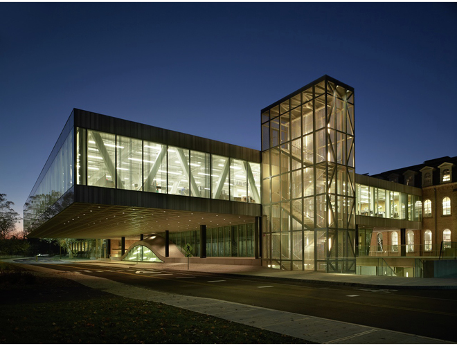 (Milstein Hall) photo cred: www.archdaily.com
